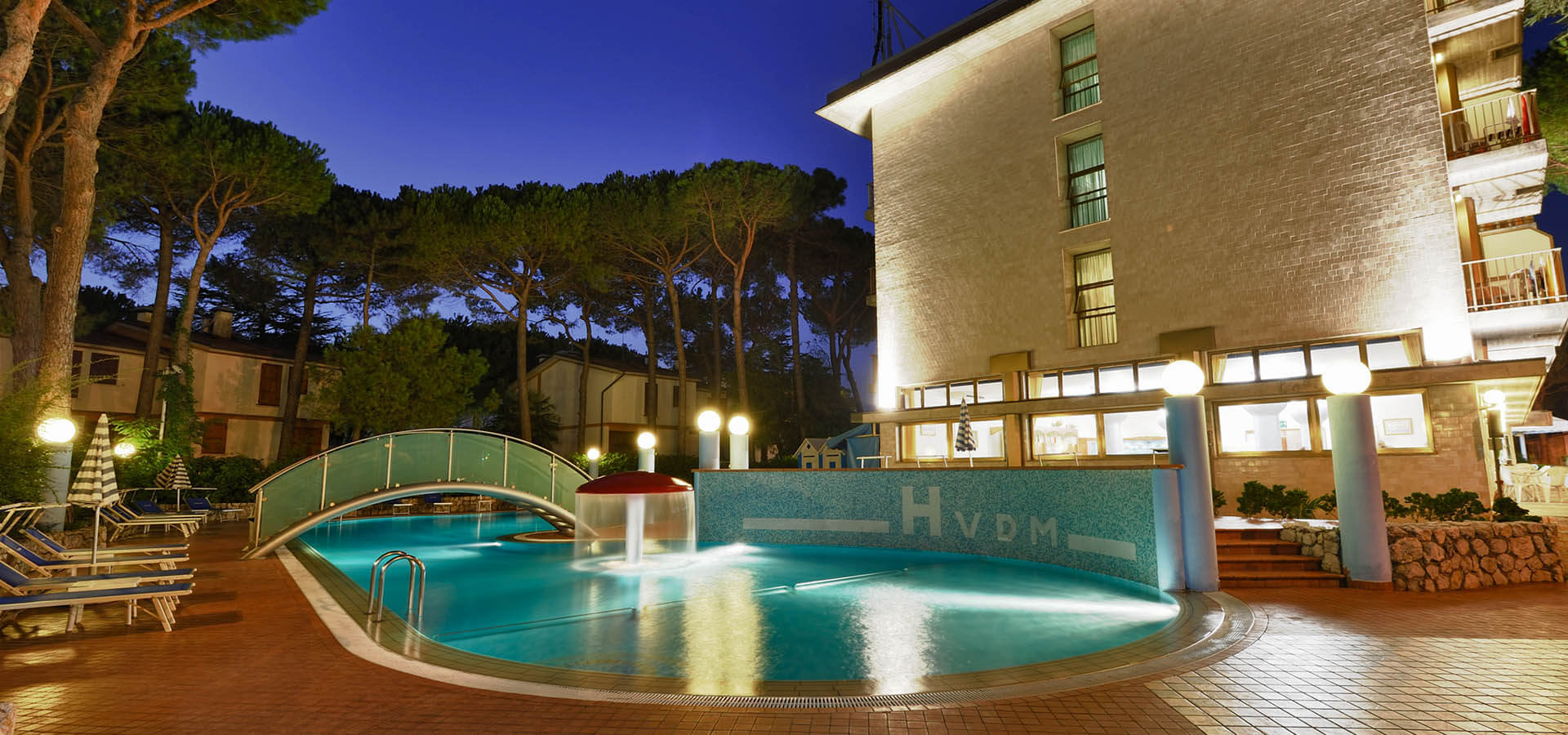 3 star hotel with swimming pool in Lignano