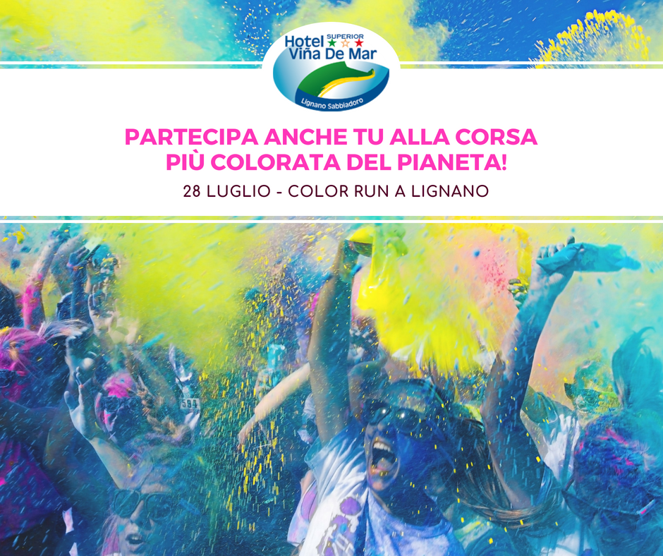 the color run lignano